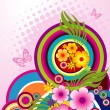 Colorful circles, vector - Stock Vector