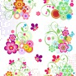 Floral Elements — Stock Vector