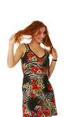 Summer sundress — Stock Photo