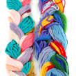 Plait of colour — Stock Photo