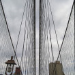 Royalty-Free Stock Photo: BROOKLYN BRIDGE, fragment