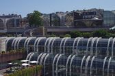 View on Forum des Halles, Paris — Stock Photo