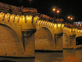 Paris, Pont Neuf bridge — Stock Photo