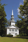 White country church — Stock Photo