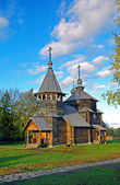 Wooden church in the Suzdal museum. — Стоковое фото