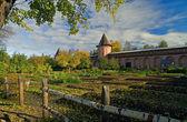 Monastery garden — Stock Photo