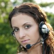 Royalty-Free Stock Photo: Customer service woman