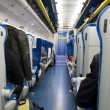 Inside the train — Stock Photo