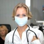 Female medical professional — Stock Photo