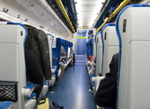 All'interno del treno — Foto Stock