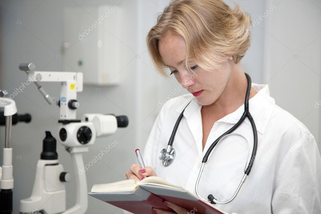 Female medical professional — Stock Photo #2174111