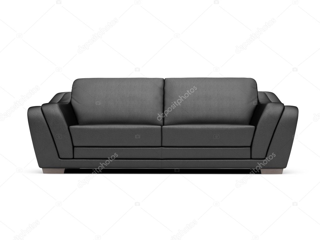 Isolated couch over white background — Stock Photo #1147911