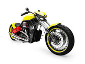 Isolated moto front view 01 — Stock Photo
