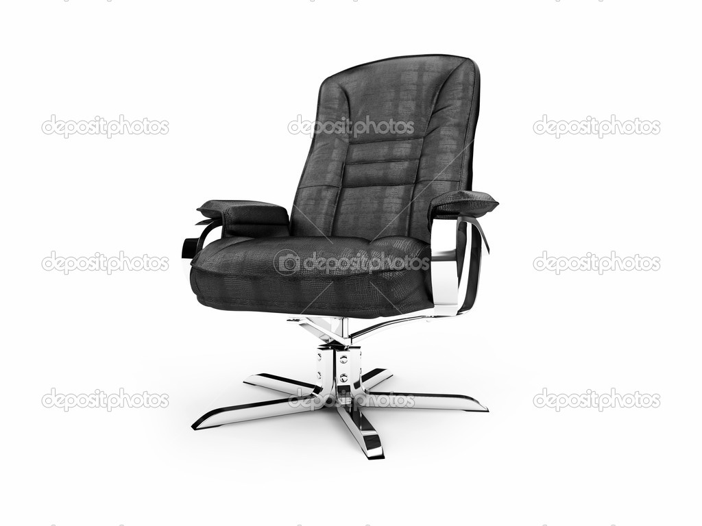 Isolated chief armchair on white background — Stock Photo #1150990