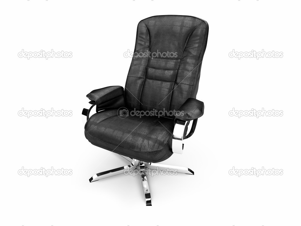 Isolated chief armchair on white background — Stock Photo #1151004