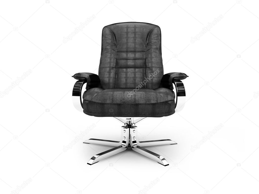 Isolated chief armchair on white background  Stok fotoraf #1151009