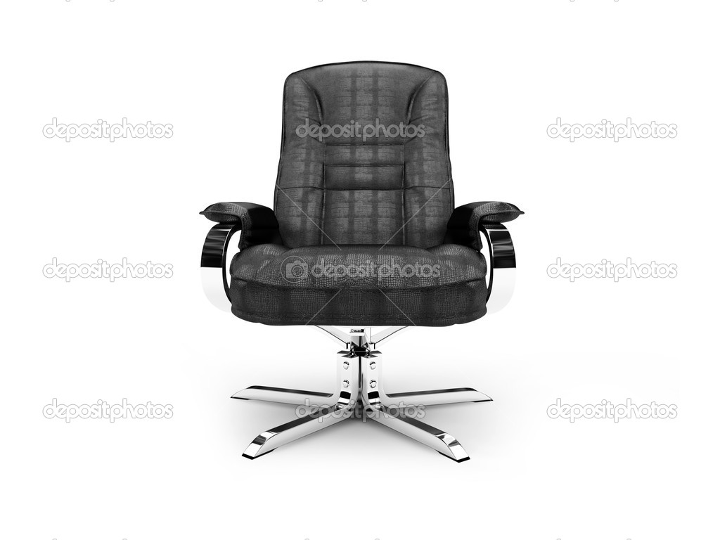 Isolated chief armchair on white background — Stock fotografie #1151009
