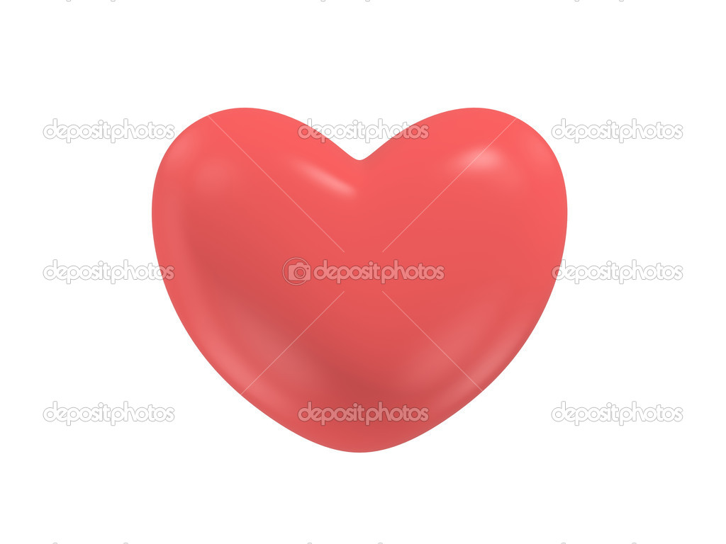 Big red heart — Stock Photo #1152188