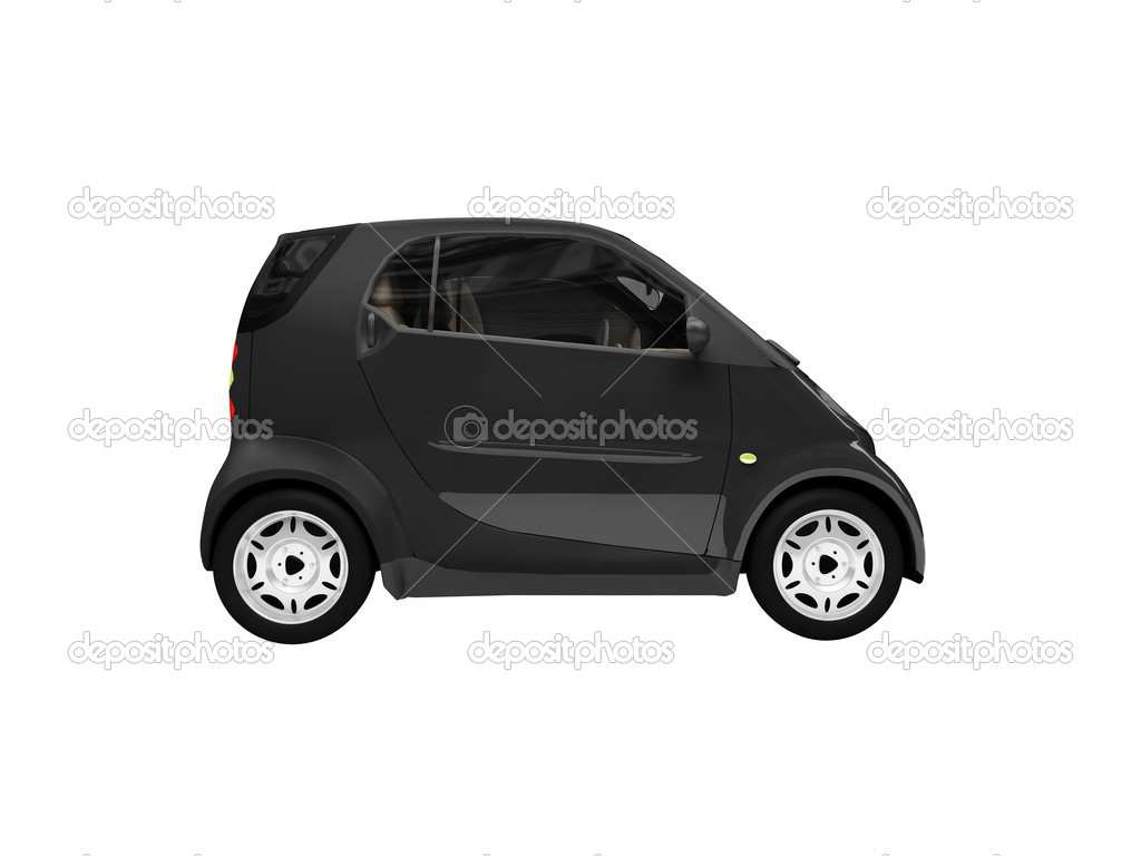 mini isolated black car side view � stock photo 169 fckncg