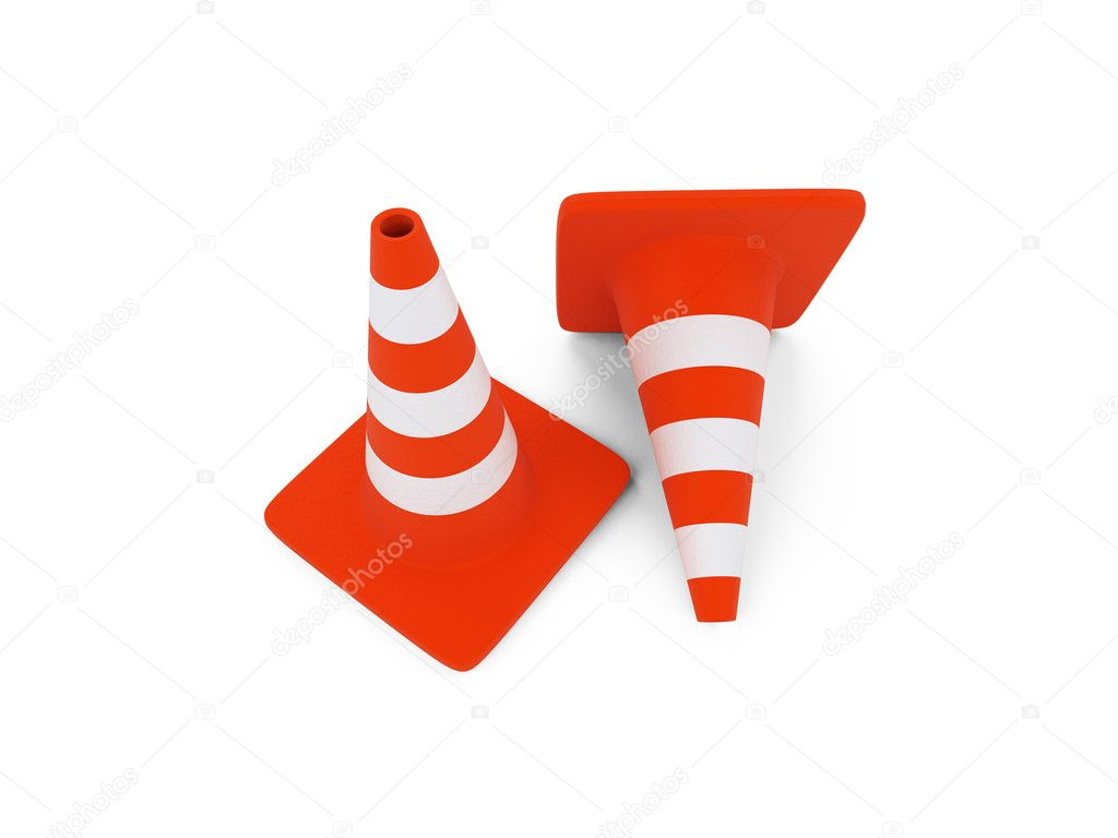 Isolated traffic sign on a white background — Stock Photo #1156780