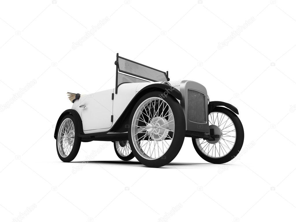 旧的老式复古车 — 图库照片08fckncg#1157311
