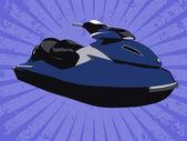 Vector jetski — Stock Photo