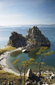 Olkhon Island on Lake Baikal — Stock Photo