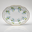 Stock Photo: Hand-painted empty dinner plate