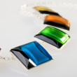 Part of colorful necklace — Stock Photo