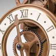 Antique looking clock dial — Stock Photo