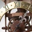 Antique looking clock dial — Stock Photo #1406942