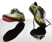 Female jogging shoes — Stock Photo