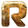 Stock Photo: Gold letters with clipping path
