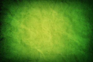 Green grungy paper texture