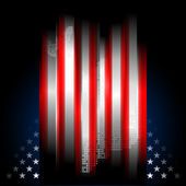 Stars and Stripes american flag, illustr — Stock Photo