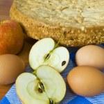 Tarta de manzana — Foto de Stock