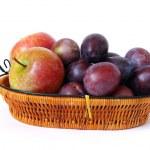 kosz owoców — Zdjęcie stockowe