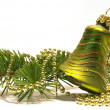 Christmas tree and bell — Stock Photo #1109692