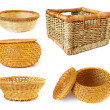Collection of baskets — Foto de Stock