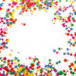 Colored confetti — Foto de Stock