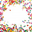 Foto de Stock  : Colored confetti