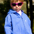 Cute little girl in sunglasses — Stock Photo #1110544