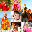 Foto Stock: Happy childhood concept