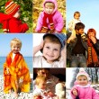 Stock fotografie: Happy childhood concept