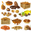 Royalty-Free Stock Photo: Nuts collection