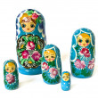 Russian dolls - Stok fotoraf