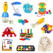 Toys set - Stock Photo