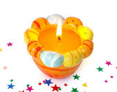 Easter candle — Stock Photo