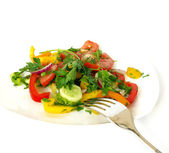 Freshness vegetarian salad — Stock Photo