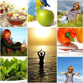 Hälsosam livsstilskoncept — Stockfoto